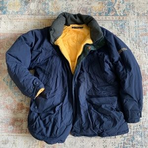 VTG Nautica 90's Puffer Duck Down feather Coat